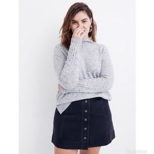 NWT Madewell Donegal Inland Turtleneck Sweater